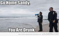 Go Home Sandy!