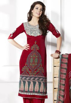 #Red Salwar #Suit @ $57.00