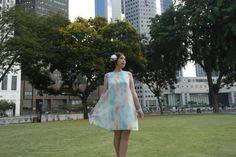 A Rainbow Dress | A Fashion Lookbook