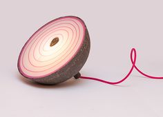 Intimity - Recycled paper lamp on Behance