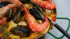 Rick Stein on seafood, socarrat and all things paella.