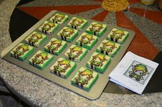 Love-Making in the Kitchen: Where Food Goes Beyond the Boundary of Hunger: Pixel Cookies: Link from Zelda