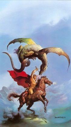 Boris Vallejo the complete artwork collection Frank Frazetta, Boris Vallejo, Julie Bell, Vampires, Robert E Howard, Bell Art, Conan The Barbarian, Sword And Sorcery, Fantasy Kunst