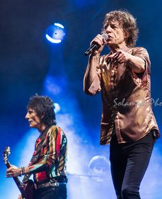 Rolling Stones /Glastonbury 2013 by Solange Moreira-Yeoell