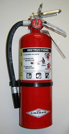 31 Days of Often Overlooked Emergency Prepping: Day Seven — Fire Extinguisher. This one tool can keep a single flame from consuming your entire home. Project Simple Home