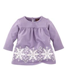 Look at this Taro Purple Eisprinzessin Babydoll Dress - Infant on #zulily today!