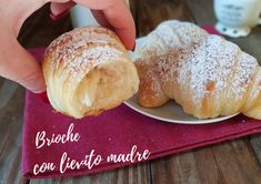 Croissant, Hamburger, Bread, Dolce, Cooking, Food, Lavender, Recipes, Kitchen