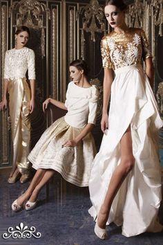 Dresses, Haute Couture White Gold