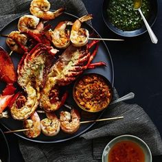 Shellfish Mixed Grill - Epicurious