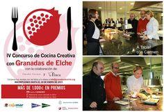 IV Concurso de Cocina Creativa con Granadas de Elche