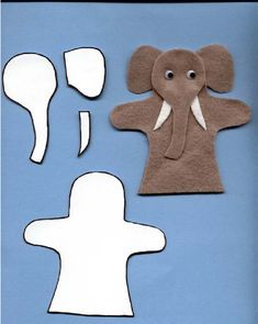 Instructions and patterns for making finger puppets from felt Felt Puppets, Puppets For Kids, Felt Finger Puppets, Hand Puppets, Puppet Patterns, Felt Patterns, Stuffed Toys Patterns, Puppet Making, Operation Christmas Child