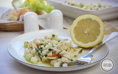 Sałatka z kalmarów- kuchnia włoska - przepis - Tapenda.pl