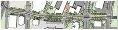 SW 3rd Ave & Lincoln St Station Plan - Portland-Milwaukie Light Rail (Orange line)