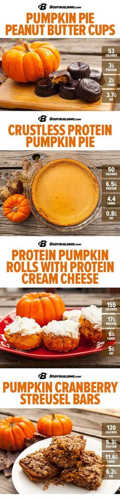 Healthy #Recipes: 8 Delicious Protein Pumpkin Recipes! Nothing says fall like the sweet taste of pumpkin.