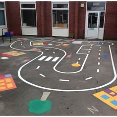 Imagination Excercise for kids Outside Playground, Preschool Playground, Playground Games, Playground Flooring, Playground Design, Outdoor Fun For Kids, Backyard For Kids, Outdoor Games, Playground Painting