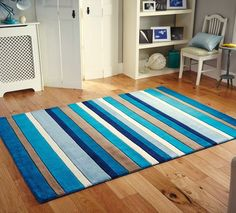 jazz - stripes blue image 1