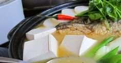 Milky and light brown fish soup, full of flavor and packed with nutritious goodness. This is what I cooked for my family for dinner tonight....