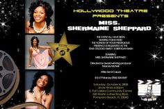 Hollywood Star Sweet 16 Invitations #2