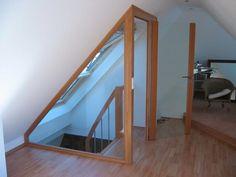 We welcome your call - Loft - Dachausbau - Attic Loft, Loft Room, Attic Rooms, Bedroom Loft, Garage Bedroom, Bedroom Small, Small Rooms, Attic Bedroom Designs, Attic Design