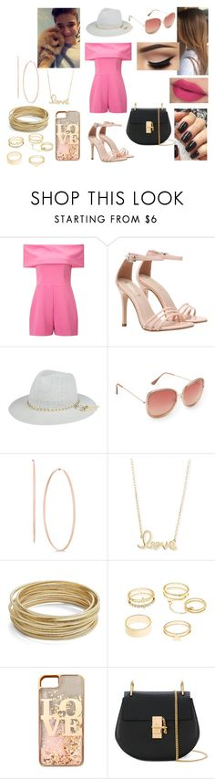 """Summer Date With Daniel Seavey"" by roxy-crushlings ❤ liked on Polyvore featuring Miss Selfridge, Aéropostale, Sydney Evan, Design Lab, Charlotte Russe, claire's, Chloé, DanielSeavey and whydontwe"