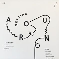 Playful typography #blackandwhite #graphicdesign #portland #storedesign
