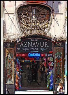 Aznavur Pasajı | Beyoğlu | İstanbul | Türkiye Freedom Of Religion, Turkey Holidays, Istanbul Travel, Grand Bazaar, Turkey Travel, Istanbul Turkey, Culture Travel, Best Cities, Great Places