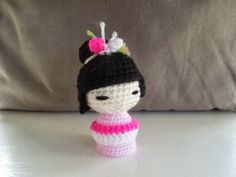 Free Amigurumi Doll Patterns In English : Free crochet pattern sleepy doll translated from spanish to