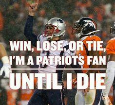 New England Patriots! #PatsFan4Life