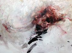 oil painting on canvas 130x97cm http://ewahauton.wix.com/peinture #dancer #oil