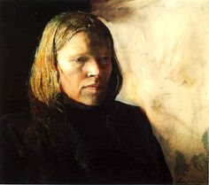 Andrew Wyeth: 'Pageboy'