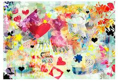 Toodle Hoo is a  fun sweet and colorful by BerengereDucomsArt, $26.61