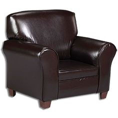 Beautiful View Faux Leather Kids Club Chair Deals At Big Lots