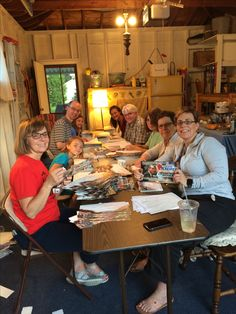 Many thanks to all of the helpers working on a 2000+ piece district mailer tonight!  We will release the details of the mailer tomorrow evening.  (It was a family affair, but it looks like everyone is having a great evening!)