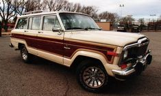 1985 Jeep Wagoneer Station Wagon