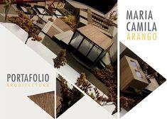 Portafolio Maria Camila Arango on Behance Concept Board Architecture, Landscape Architecture Portfolio, Architecture Presentation Board, Revit Architecture, Portfolio Examples, Portfolio Design, Background For Powerpoint Presentation, Presentation Board Design, Photoshop Design