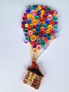 40 creative paper quilling designs and graphics - Kunst - Welcome Crafts Paper Quilling Cards, Paper Quilling Patterns, Quilled Paper Art, Quilling Paper Craft, Paper Crafts, Quilling Dolls, Easy Arts And Crafts, Diy And Crafts, Kid Crafts
