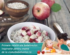Bebe va fi incantat de gustul dulceag al fulgilor de ovaz si mar. Daca micutul tau mesteca bine nu mai este necesar sa pasezi ingredientele.