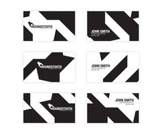 Driskell Creative - Houndstooth Consulting Business Card Design - Branding, Web Design, Web Development