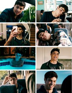 Noah Centineo as Peter Kavinsky in To All the Boys I've Loved Before Lara Jean, Beautiful Boys, Pretty Boys, Series Quotes, Peter K, Jenny Han, Film Serie, Man Crush, Handsome Boys