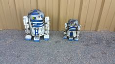 Artoo-Detoo.R2-D2 STAR WARS. Metal Star Wars by GardenMetalDecor