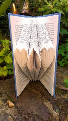 94 Best Book Pages Images On Pinterest Book Folding Folded Book