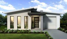 Modern Small House Design, Contemporary House Plans, Minimalist House Design, Modern House Plans, Modern House Facades, Modern Bungalow House, Bungalow House Plans, Flat Roof House, Facade House