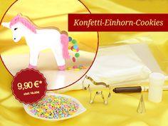 Angebot des Monats März Konfetti-Einhorn-Cookies  Wie immer im einmaligem Set zum Spitzenpreis!  #pativersand #einhorn #kekse #cookies #konfetti  http://www.pati-versand.de/sonderangebote/angebot-des-monats-maerz?c=1097