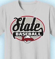 Baseball Shirt Designs - Custom Baseball Shirts - State Baseball T-Shirt Designs: Click 52 NEW Team Designs. Order Now Baseball Shirt Designs, Baseball Shirts, Team T Shirts, Mens Tops