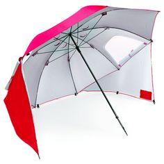 Sport Brella 8 Foot All Weather Portable Sun Tent Shelter Umbrella Canopy, Red Beach Canopy, Kids Canopy, Backyard Canopy, Garden Canopy, Canopy Outdoor, Canopy Tent, Tents, Window Canopy, Canopy Curtains