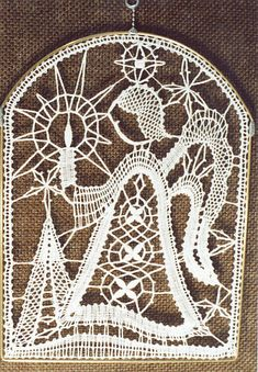Christmas Deco, Xmas, Lacemaking, Lace Heart, Lace Jewelry, Bobbin Lace, Shops, Lace Detail, Tatting