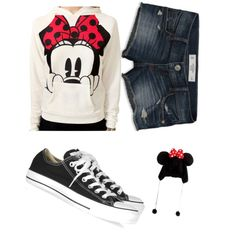 """""""Minnie Mouse Outfit for a Day at Disneyland"""""""