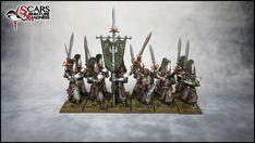 High elves army