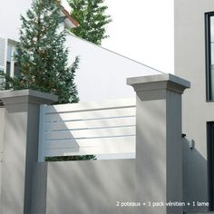 1000 ideas about cloture pvc on pinterest cloture for Portail jardin pvc