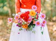 Our Favorite Bouquets from 2017 - pink poppy    #bouquet #weddingbouquet #bouquetinspiration